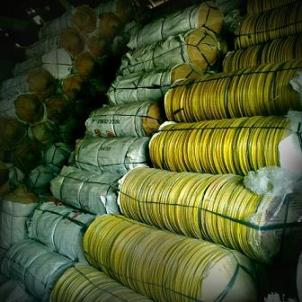 kerajinan bambu magetan-caping